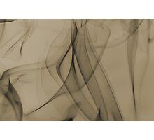 Smoldering Smoke Muted Pastel 002 Photographic Print
