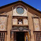 Church Of Chimayo by Nancy Richard