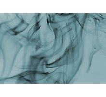 Smoldering Smoke Muted Pastel 004 Photographic Print