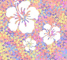 Hawaiian flower pattern by Liz-Marteau