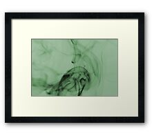 Smoldering Smoke Muted Pastel 005 Framed Print