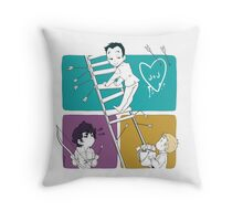 Catch Moriarty Throw Pillow