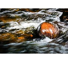 Fast Water 2 Photographic Print