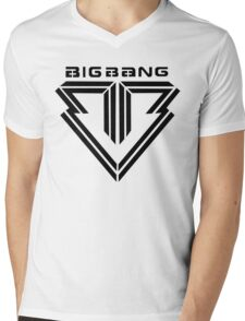 BIGBANG Mens V-Neck T-Shirt