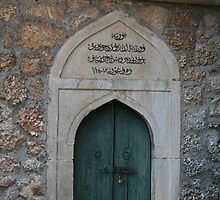 Door at the Koski Mehmed pasa Mosque by erwina