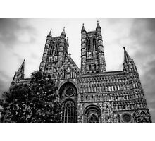 Lincoln Cathedral Facade Photographic Print