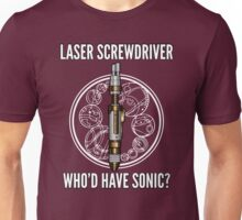 Laser Screwdriver. Who'd have Sonic? Unisex T-Shirt