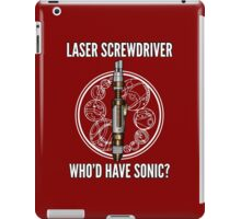 Laser Screwdriver. Who'd have Sonic? iPad Case/Skin