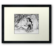 Lilith II Framed Print