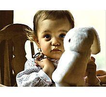 Bunny Love Photographic Print