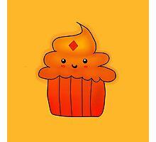 Flame Princess Cupcake Photographic Print