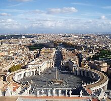 St Peter's Square by erwina
