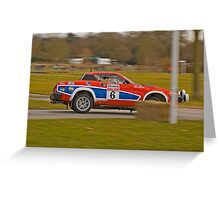 Triumph TR7 V8 Greeting Card