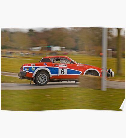 Triumph TR7 V8 Poster
