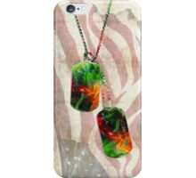 Military Art Dog Tags - Honor 2 - By Sharon Cummings  iPhone Case/Skin