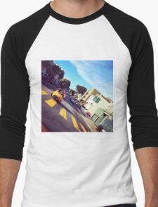 Go Karting in SF Men's Baseball ¾ T-Shirt