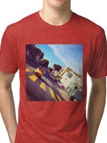 Go Karting in SF Tri-blend T-Shirt