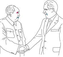 Famous Handshakes of the Twentieth Century - I by fesch
