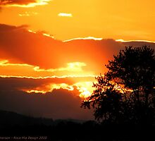 Sky's on Fire by rocamiadesign