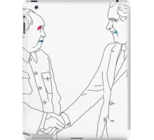 Famous Handshakes of the Twentieth Century - I iPad Case/Skin