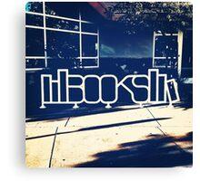Book Bike Racks Canvas Print