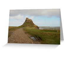 Holy Island of Lindisfarne - Northumberland Greeting Card