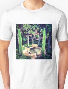 Gardens in Alhambra T-Shirt