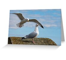 Do You Hear Wings Flapping? Greeting Card