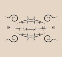 Deidara's Sealed Mouth - Naruto by langstal