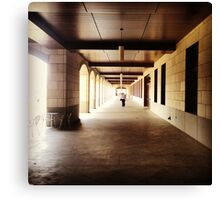 Tunnels in Stanford Canvas Print