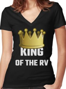 King Of The RV Women's Fitted V-Neck T-Shirt