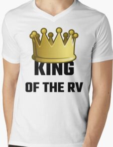 King Of The RV Mens V-Neck T-Shirt