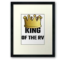 King Of The RV Framed Print