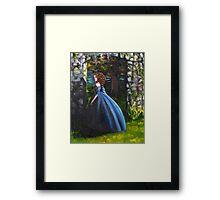 At the Garden Gate Framed Print
