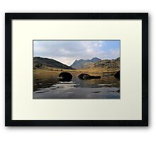 Blea Tarn & The Langdale Pikes Framed Print
