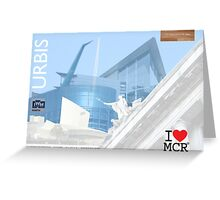 I love Manchester #2 Greeting Card