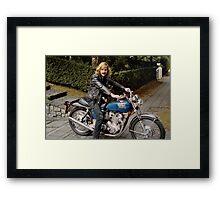 Biker Billy Framed Print
