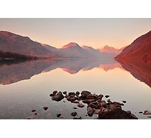Tranquil Water in the Lakes Photographic Print
