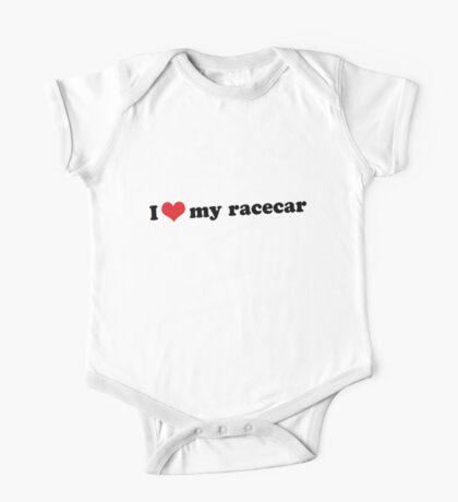 I ♥ my racecar One Piece - Short Sleeve