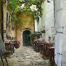 Old Antwerp - Vlaaikensgang by Gilberte