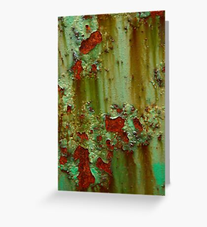 Swamp Thing Greeting Card