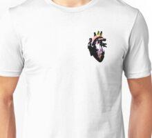 Pangender Pride Heart (with black detail) Unisex T-Shirt