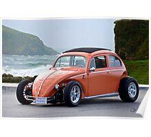 Volkswagen Bug 'Slightly Modified' Poster