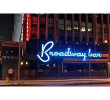 """Broadway Bar"" Photographic Print"