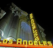 """Los Angeles Theatre"" #2 - Downtown Los Angeles by Tony Edwards"