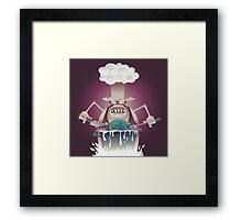 Cooked Planet Framed Print