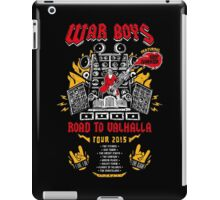 Road to Valhalla Tour iPad Case/Skin