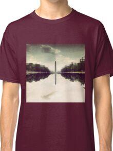 Washington Monument Reflections Classic T-Shirt