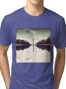 Washington Monument Reflections Tri-blend T-Shirt
