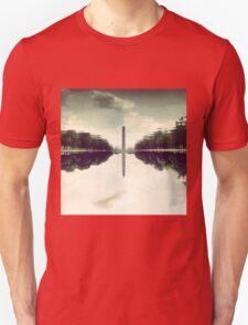 Washington Monument Reflections Unisex T-Shirt